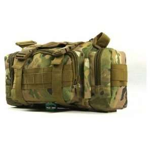 Camouflage Outdoors Riding Waist Pack Travel Bag Patio, Lawn & Garden
