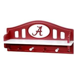 Alabama Crimson Tide Shelf With Pegs