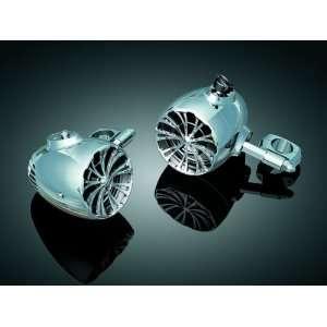 Kuryakyn Sound of Chrome Speakers  Harley Davidson