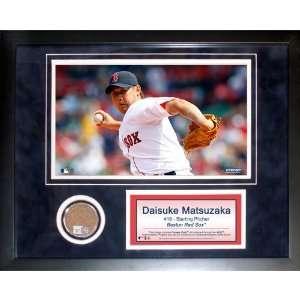 Steiner Sports MLB Boston Red Sox Daisuke Matsuzaka 11 x