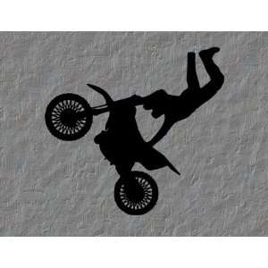 Motocross Dirtbike Vinyl Wall Decal Sticker Decor Art