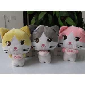 24pcs/lot kitty cat plush dolls kitty cat plush toys stuffed