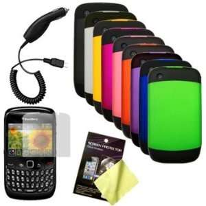 Nine Pcs Two Tone Soft Touch Hard Cases / Covers / Shells