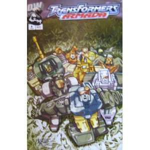 TRANSFORMERS ARMADA, #8, February 2003 (Volume 1): Simon