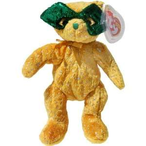 the Mardi Gras Bear (Internet Exclusive) Teddy Bear   Ty Beanie Babies