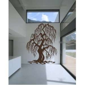 Weeping Willow Tree Vinyl Wall Decal Sticker Graphic By LKS Trading