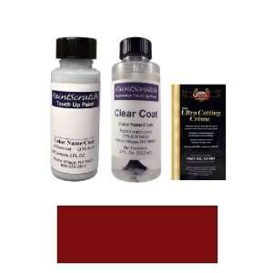 Medium Red Metallic Paint Bottle Kit for 1998 Dodge Van Wagon (MD/SMD