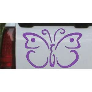 19.0in    Butterfly 3 Butterflies Car Window Wall Laptop Decal Sticker