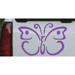 19.0in    Butterfly 3 Butterflies Car Window Wall Laptop Decal Sticker