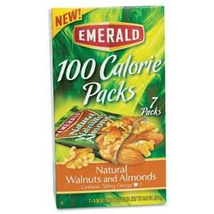 Emerald 100 Calorie Pack Walnuts and Almonds   7 pks./box