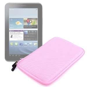 Water Resistant Pink EVA Zip Case For Samsung P1000 Galaxy