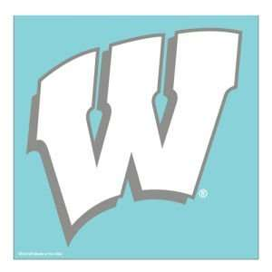 Wisconsin Badgers Wincraft 18inx18in Die Cut Decal