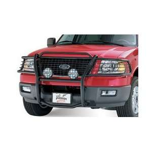 Sportsman 1 Piece Grille Guard   Black, for the 2004 Ford Expedition