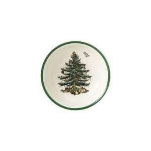 Spode Christmas Tree Cereal Bowl 6.5