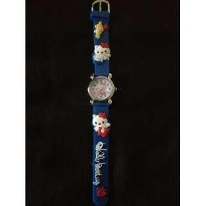 Childrens Hello Kitty Watch (Navy)
