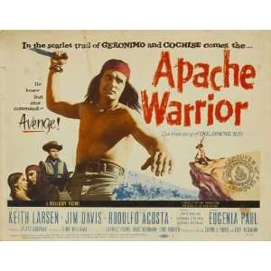 Apache Warrior Poster Movie 11 x 17 Inches   28cm x 44cm