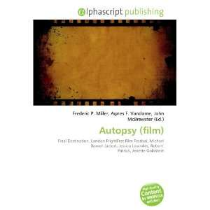 Autopsy (film) (9786134163699): Books