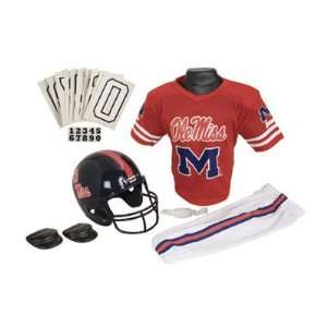 NCAA Mississippi Youth Team Uniform Set, Size Small