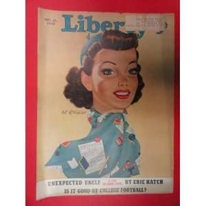 21,1940 (Cover Only) woman/blues/blue hat/blue scarf