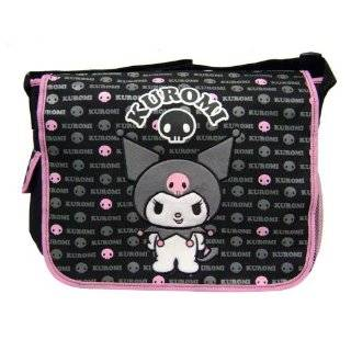 Hello Kitty Kuromi   Black Messenger Bag ~ F.A.B Starpoint