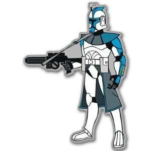 Star Wars ARC Star Trooper bumper sticker decal 4 x 5