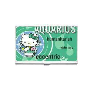 hello kitty Aquarius Business Card Holder