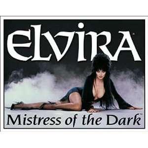ELVIRA Mistress of the Dark Metal Tin Sign Nostalgic