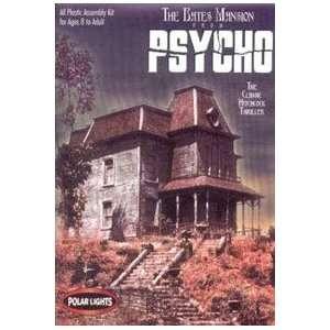 The Bates Mansion from Psycho Polar Lights Model Kit Toys & Games