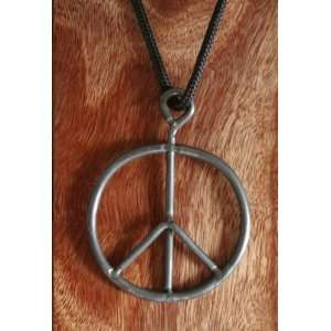 Festival & Concert Hippy Peace Sign Necklace Not Fake Poster, Ticket