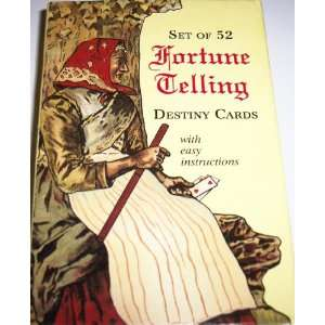 Fortune Telling Destiny Cards: unknown: Books