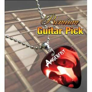 Angerfist Premium Guitar Pick Necklace: Musical