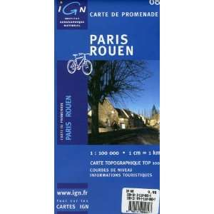 Paris/Rouen (IGN Green Top 100) (9782111000827) Books
