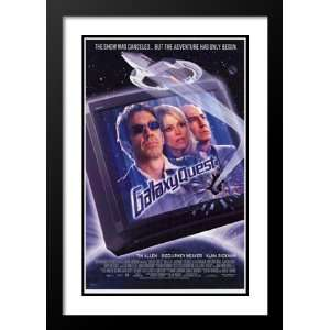 Galaxy Quest 32x45 Framed and Double Matted Movie Poster   Style A