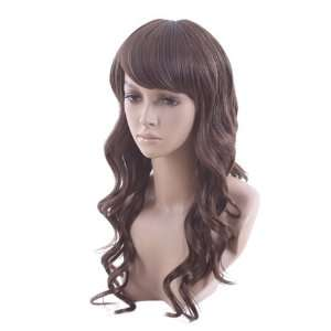 High Quality Long Curly Light Brown Classy Soft Hair Full