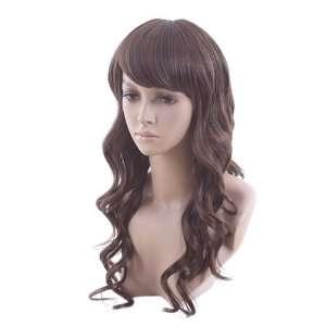 High Quality Long Curly Light Brown Classy Soft Hair Full