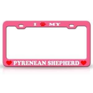 I PAW MY PYRENEAN SHEPHERD Dog Pet Animal High Quality