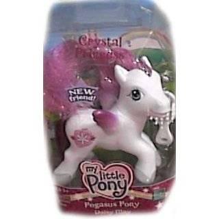 My Little Pony Crystal Princess Pegasus Silver Glow Pony