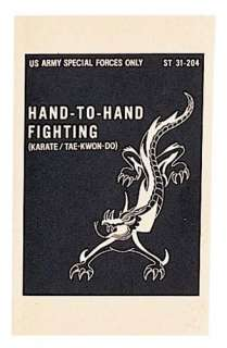 US Army Special Forces Hand to Hand Fighting Manual