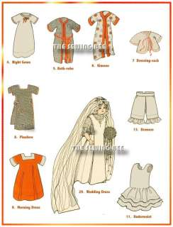 Mary Frances Sewing Book on CD + Set of Doll Patterns