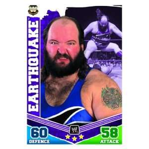 EARTHQUAKE Legends Slam Attax MAYHEM Trading Card: .co.uk: Toys