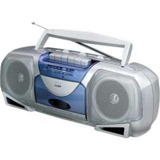 Coby CX244 Portable Stereo Radio & Cassette Recorder in Portable