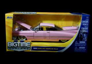 1959 cadillac coupe deville bigtime kustoms by jada new 1 24 scale