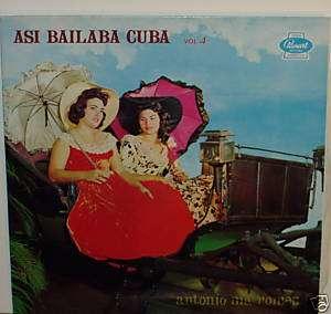 BARBARITO DIEZ/ASI BAILABA CUBA VOL.4 LP
