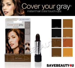 Pkg / IRENE GARI COVER YOUR GRAY HAIR COLOR TOUCH UP STICK 8 COLORS