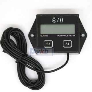 Tachometer Hour meter 2 4 Stroke Small Engine Spark ★