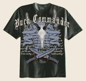 Buck Commander The Butcher T Shirt Duck Deer