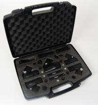 EAGLETONE Kit de 7 microfonos para bateria con pinzas   dk70   Micros