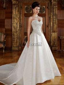 Wedding dresses satin bridal dress by Casablanca Bridal style 2012