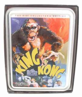 King Kong Collection DVD 2006 4 Disc Best Buy Exclusive 053939760323