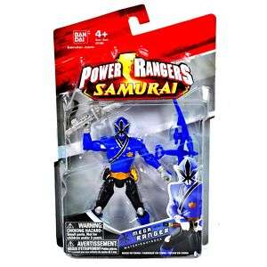 Power Rangers SAMURAI WATER BLUE MEGA RANGER 4 Action Figure TOY